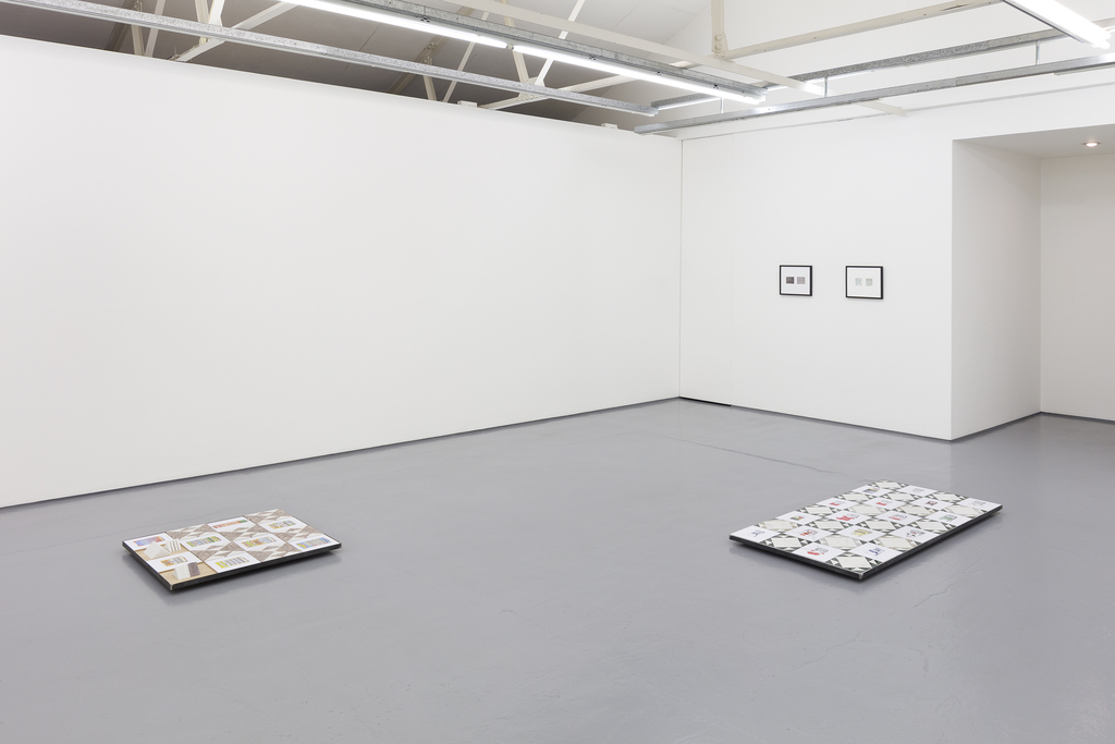 Michael Queenland exhibition view at Maureen Paley, London 2019