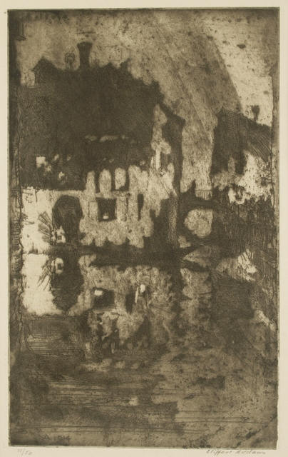 Clifford Isaac Addams, 'Ma Porte a Venise', ca. 1914, Private Collection, NY
