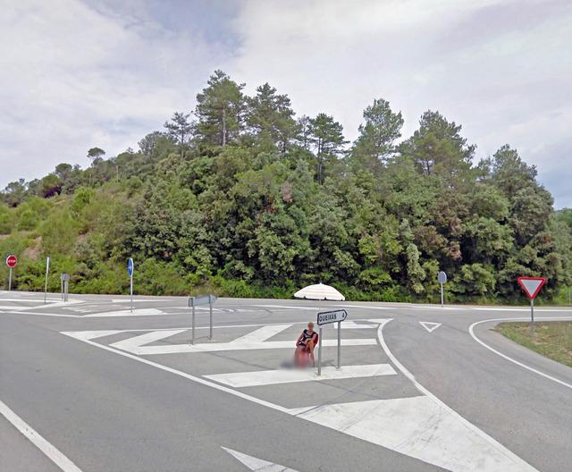, 'Carretera de Olot, Crespia, CT, Spain,' 2011, Carroll / Fletcher