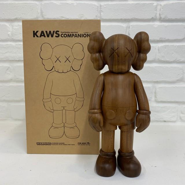 KAWS, 'Companion (Karimoku, Wood Version)', 2001, gallary. los angeles