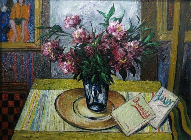 , 'Nature morte aux pivoines ,' ca. 1948, Galerie Claude Lafitte