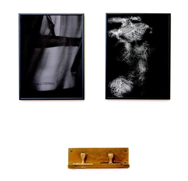 , 'Au levé. Tais-toi,' 2016, Galerie du Griffon