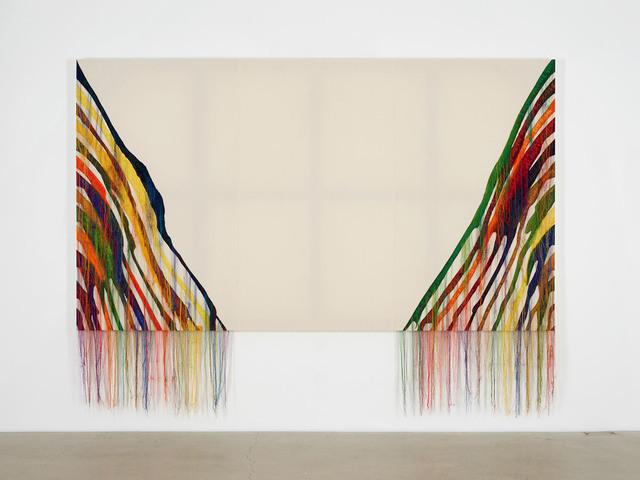 , 'Abstract Weave / Morris Louis Beta Zeta 1960-61 NB001-01,' 2014, carlier | gebauer
