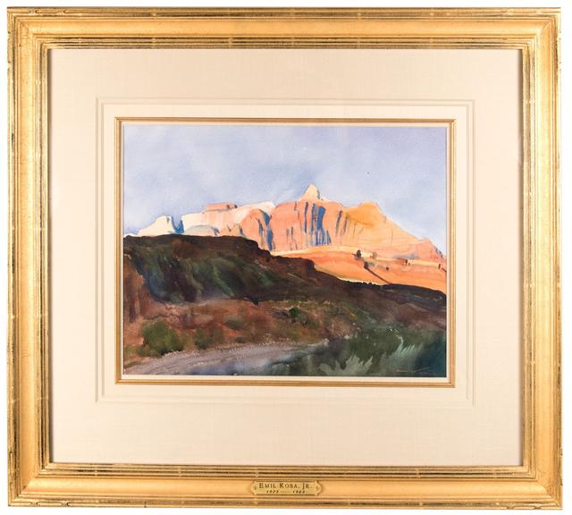 , 'Western Red Rocks,' ca. 1945, Anthony's Fine Art