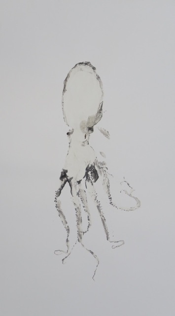 , 'Octopus drawing - 43,' 2016, La Patinoire Royale / Galerie Valerie Bach