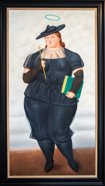, 'Woman with Hat,' 2015, David Benrimon Fine Art
