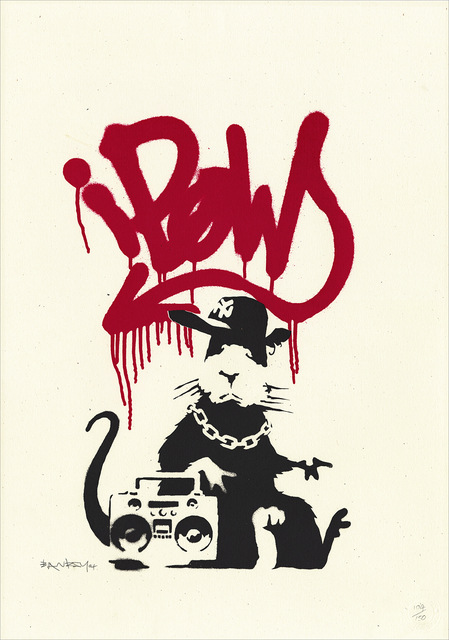 Banksy, 'Gangsta Rat', 2004, Gallery 211