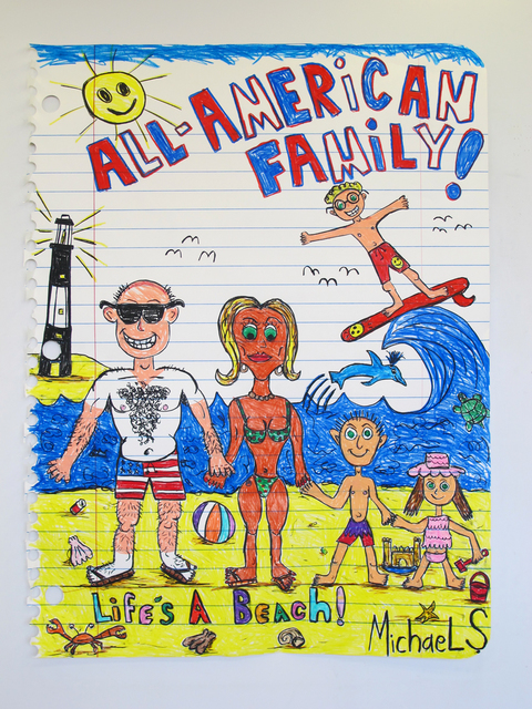 , 'All-American Family XXVI(Life's aBeach!),' 2016, g.gallery