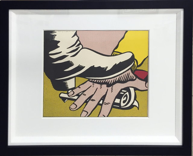 Roy Lichtenstein, 'Foot & Hand', 1965, Print, Lithograph, Soho Contemporary Art