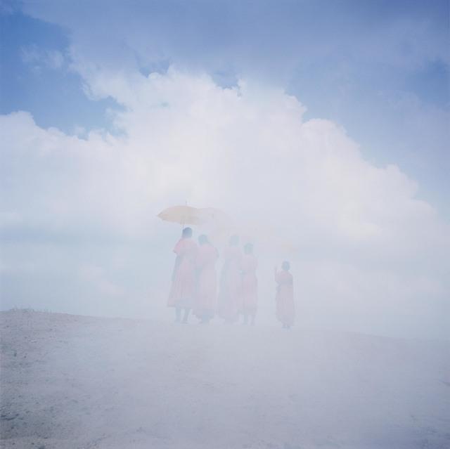 , 'Monks,' 2019, Flowers