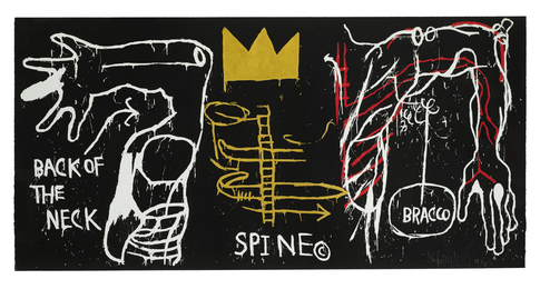 Jean-Michel Basquiat, 'Back of the Neck,' 1983, Sotheby's: Contemporary Art Day Auction