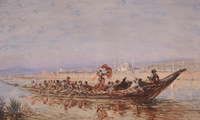, 'Dancer in a Caique,' 1870-1880, Pera Museum