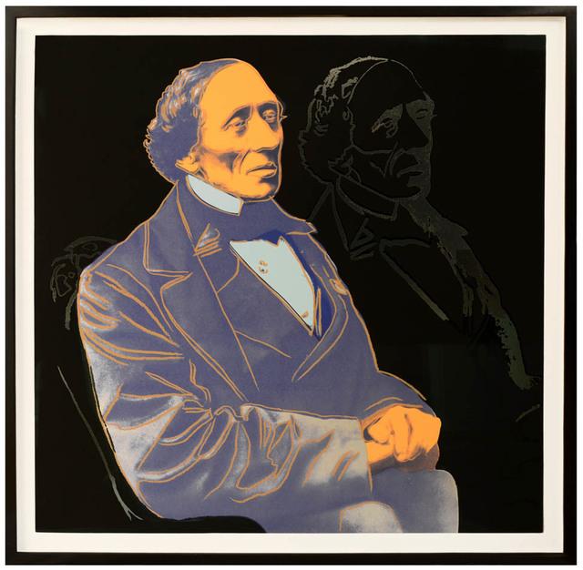 Andy Warhol, 'Hans Christian Andersen.', 1987, Shapero Modern