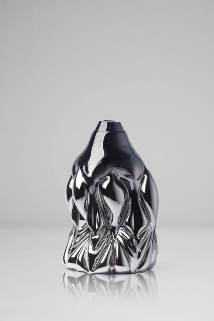 , 'Goldfish Print, black metallic,' 2018, CFHILL