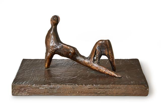 Henry Moore, 'Reclining Figure: Stiff Leg', 1977, Evelyn Aimis Fine Art
