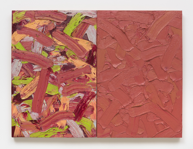 , 'Abstract Diptych #49,' 2017, Roberts Projects