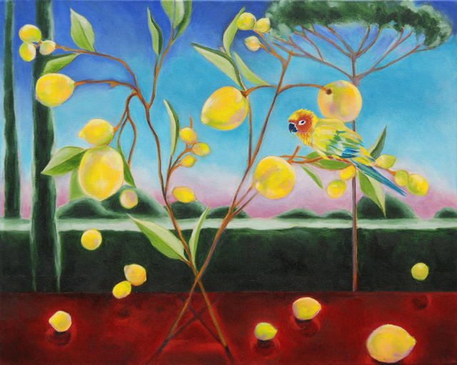 Katherine Pappas-Parks, 'One Moment is Timeless, as the Flying Birds Know III', Walter Wickiser Gallery