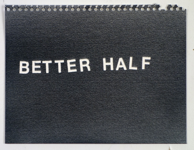Betty Tompkins, 'Better Half', 2015, Visual AIDS Benefit Auction