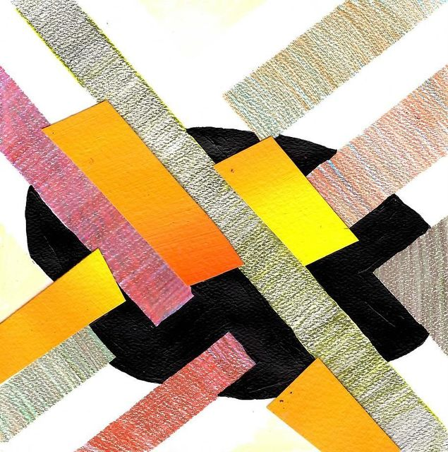 , '7x7 Collaborative Drawing (#152),' 2012, Mark Moore Fine Art