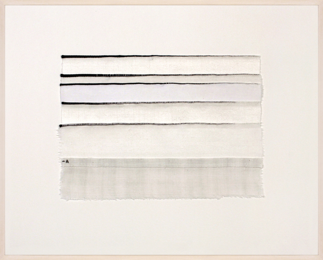 , 'Inventory Drawing -A,' 2017, Rhona Hoffman Gallery