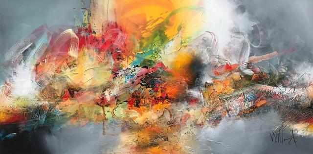 William Malucu, ' Rising ', AbrahamArt