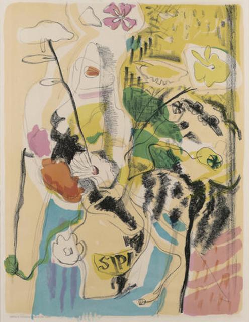 , 'Flowers,' 1938, Osborne Samuel