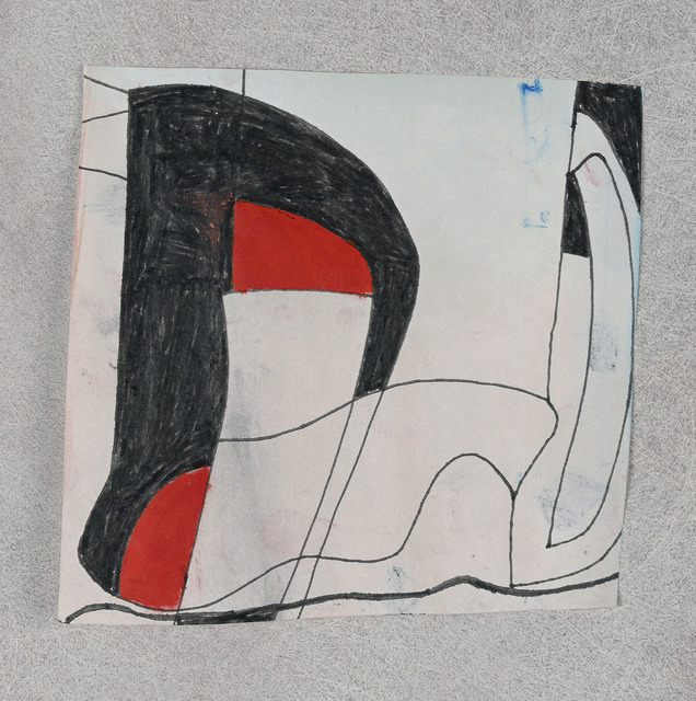 , '1981 (red and black2),' 1981, Galerie Zlotowski