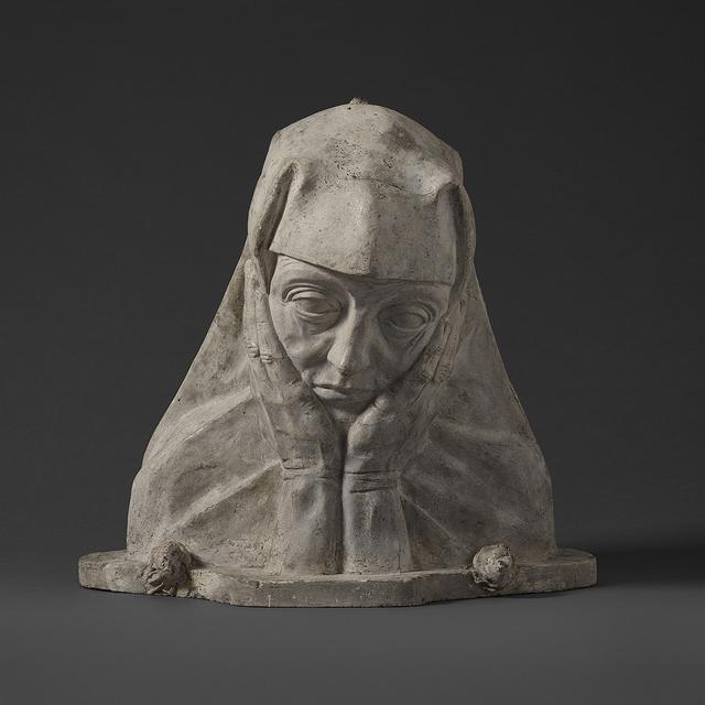George Minne, 'Oraison ', ca. 1894, Sculpture, Plaster, Stuart Lochhead Sculpture