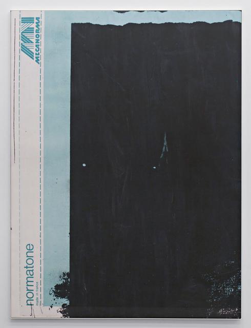 , 'E.H.D (Mecanorma, green #01),' 2015, Johannes Vogt Gallery