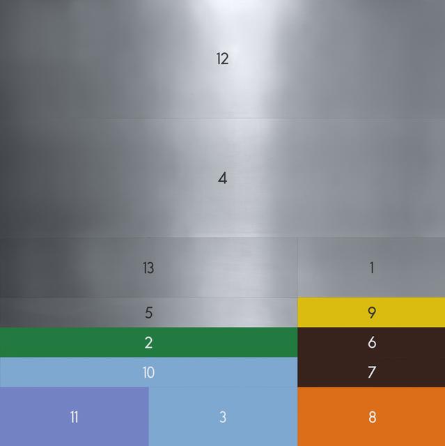 , 'A 1-13,' 1998, Charim Galerie