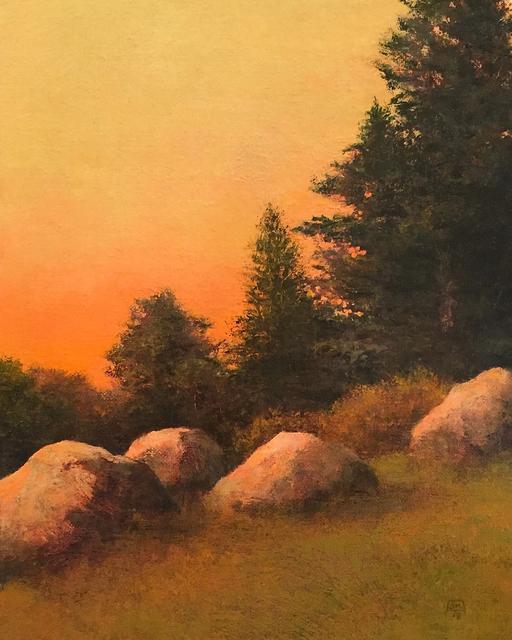 , 'Hillside Rocks,' 2018, Abend Gallery