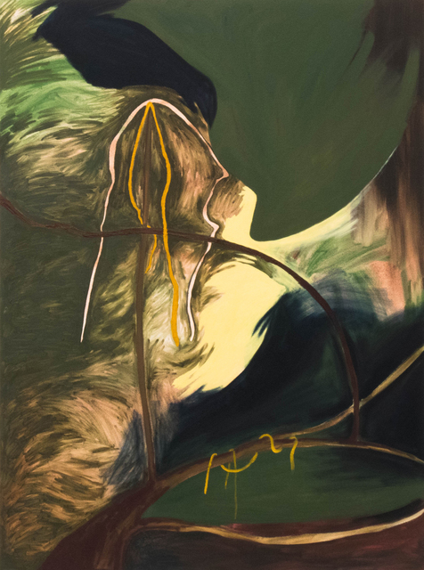 , 'Branch Holding Kelp,' 2019, South Main Gallery