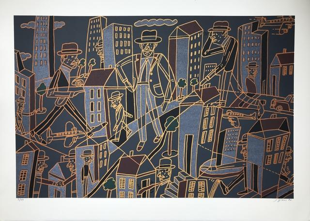 Antonio Seguí, 'Ville nocturne', 1990, Digard Auction