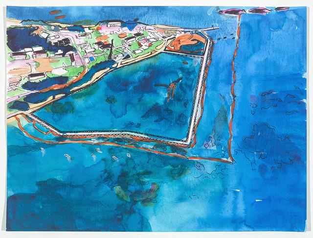 , 'Henoko Base Landfill, Oura Bay, Okinawa, Japan,' 2019, FLXST Contemporary