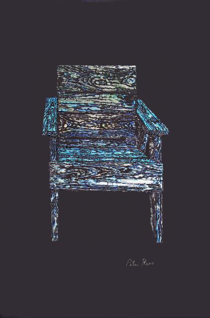 , 'Leonard's Chair,' 2017, Coagula Curatorial