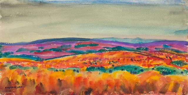Charles Hopkinson, 'Colorful Fields, Naushon', 19th -20th Century, Vose Galleries
