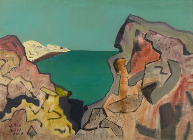 , 'Rocky Coast,' 1944-1945, Debra Force Fine Art