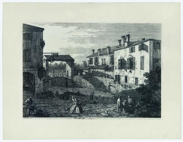, 'LE PORTE DEL DOLO,' ca. 1740, Stanza Del Borgo