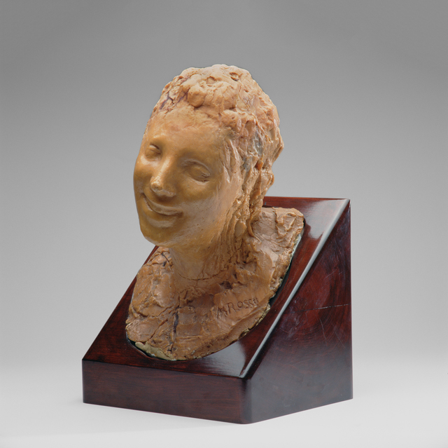 Medardo Rosso, 'Laughing woman', 1890, Kröller-Müller Museum
