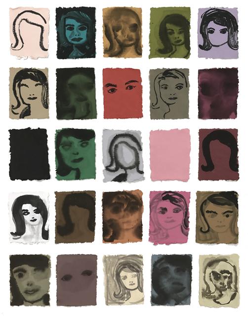 , 'The Jackie Look,' 2015, Coagula Curatorial