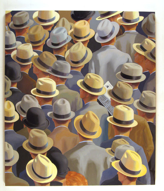 Greg Drasler, 'Back Pages', 2005, Painting, Oil on canvas, Betty Cuningham