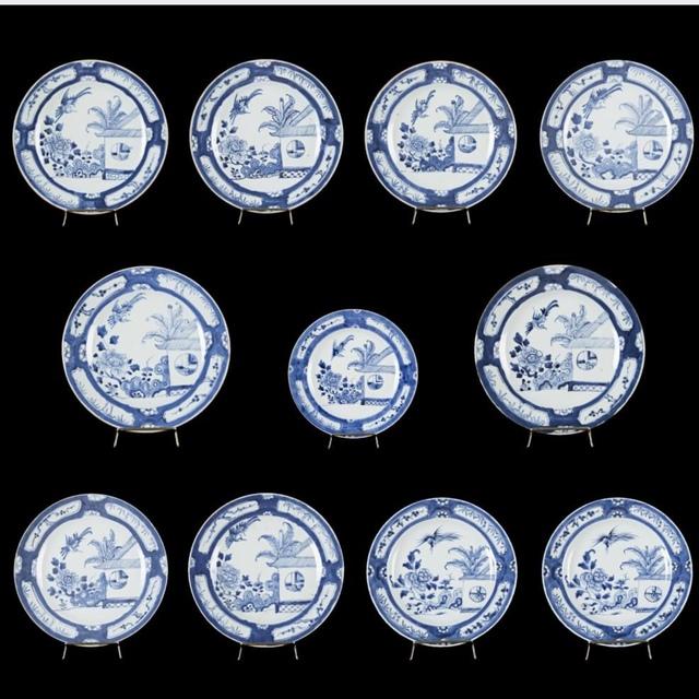 , 'Qing Dinasty. Qianlong period Porcelain Plates,' Qing Dinasty. Qianlong period, Diptych Fine Arts