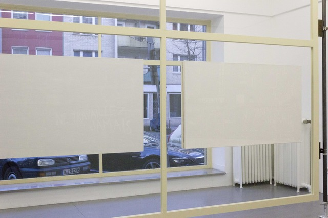 , 'Work 8, 12, 13 and 14,' 2012, Galerie Max Mayer