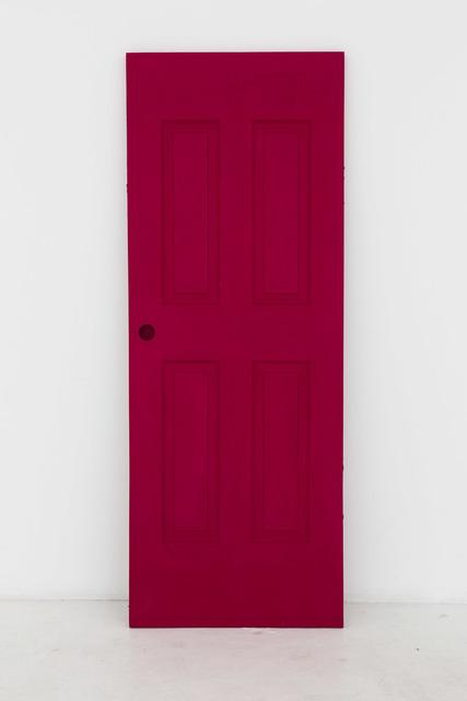 , 'Untitled (Red door),' 2015, Nina Johnson
