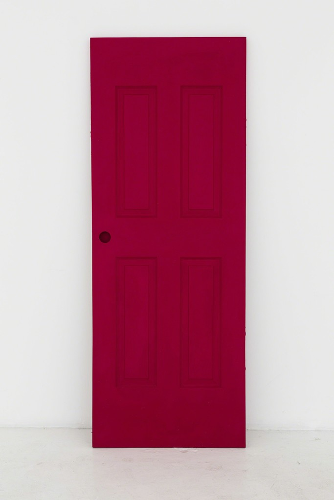 Untitled (Red door)