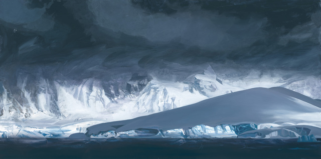 , 'Glacier, Antarctica,' 2018, Telluride Gallery of Fine Art