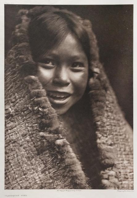 , 'Clayoquot Girl,' Neg. date: 1915 c., Alan Klotz Gallery