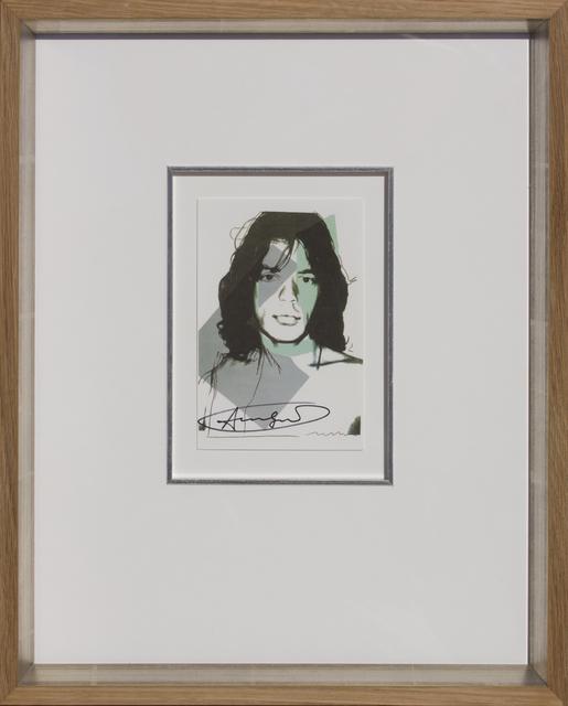 , 'Mick Jagger, 1975-06 ,' 1975, HOHMANN