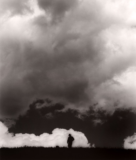 , 'Steve Hammer in the Clouds, Burns, Colorado,' 2009, ClampArt