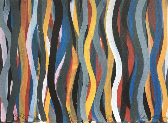 , 'Brushstrokes: Horizontal and Vertical, Plate #21,' 1996, F.L. Braswell Fine Art